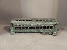 ANTIQUE CAST IRON CHICAGO ROCK ISLAND AND PACIFIC RAILROAD TRAIN CAR #1020