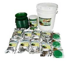 Food Storage Sprouting Kit- Emergency Prep Year Supply Sprout Seeds & Sprouters