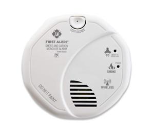 First Alert Wireless Smoke & Carbon Monoxide Alarm White (FAT1039839)