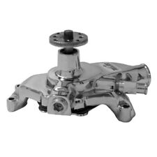 Tuff Stuff Water Pump 1354NB; SuperCool Chrome Cast Iron for Chevy 262-400 SBC