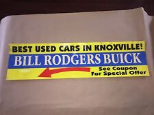 Vintage Knoxville Streetcar, Trolley Advertisement *was $200 REDUCED BUY IT NOW*