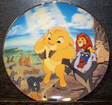 DISNEY THE LION KING BRADFORD EXCHANGE COLLECTOR PLATE