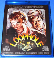 NEW KINO LORBER ALBERT FINNEY MARTIN SHEEN LOOPHOLE CRIME MOVIE BLU RAY 1981