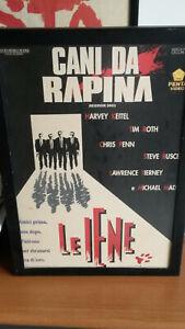 Cani da rapina (Reservoir Dogs)-Quentin Tarantino-cartonato pubblicità del film