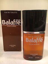 Balafre Brun Pour Homme Lancome Paris EDT SPLASH 4 fl oz New in Box-Rare Vintage