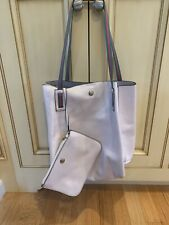 JPK PARIS 75 Large Hobo Bucket Tote BAG silver Hardware white patent leather wow