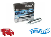 5 X Walther Valve Maintenance CO2 Umarex 12G CO2 Added CO2 & Oil - NEXT DAY