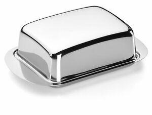 Tescoma Butterdose Butterglocke für Kühlschrank Edelstahl 250g