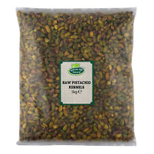 Raw Pistachio Nuts Kernels 1kg Unsalted & Unroasted