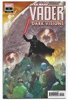 Star Wars Vader Dark Visions #1 2019 1:25 Yu Incentive Variant Marvel Comics