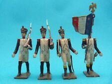 CBG MIGNOT - Infanterie premier empire - 4 soldats de plomb infanterie de ligne