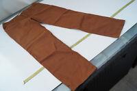 MAC Cigarette Chic Damen stretch Hose Jeans Chino Gr.44 / XL W36 L32 Braun TOP