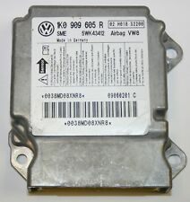 VW Golf MK5 Airbag Crash Sensore di controllo modulo ecu 1K0909605R indice 2