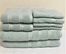 DKNY 8-Piece Bath Towel Set Seafoam Green 2 Bath, 2 Hand, 4 Wash New