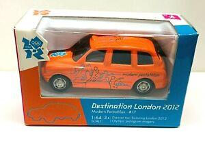 2012 Olympic Modern Pentathlon Corgi Car London Olympics Orange Car #17 1:64