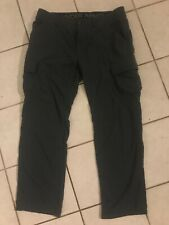 Under Armour Mens Pants Size 36x32 Tactical Duty Grey cargo baggie fit