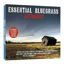 Essential Bluegrass Anthology 2-CD NEW SEALED Country Lester Flatt &Earl Scruggs
