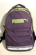 Puma School Large Backpacks Sports Purple Green