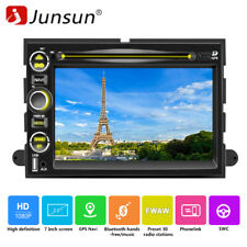 """7"""" 2 Din Car Stereo Radio CD DVD Player SWC BT FM For Ford F-150 Expedition Edge"""