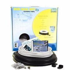 """Taco Flex Vinyl Rub Rail Kit 1-1/16""""x11/16""""x50'with WHITE Insert V11-0809BWK5 MD"""