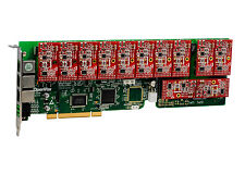 OpenVox A1200P0012 12 Port Analog PCI Base Card + 0 FXS + 12 FXO, Ethernet(RJ45)