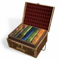 Hard Cover Box Set Harry Potter Book Limited Edition Collectible Trunk-Like Box