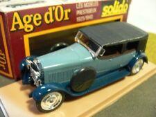 1/43 Solido Hispano Suiza blau 145 siehe Beschreibung