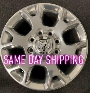"Dodge Ram 2500 Ram 3500-2019 2020 18"" OEM Wheel Rim Polished"
