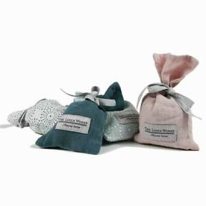 The linen Works Parisian Blue Lavender Bag / Small gift