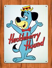 "Tin Sign ""Huckleberry Hound"" Cartoon Dog Hanna Barbera Wall Decor"