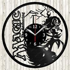 Magic The Gathering Vinyl Record Wall Clock Decor Handmade 2145
