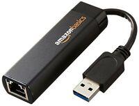 AmazonBasics USB 3.0 to 10/100/1000 Gigabit Ethernet Internet Adapter