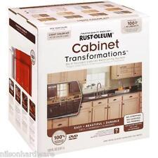 2 Gal RustOleum Transformations Cabinet Satin Light Paint Coating Kit 258109