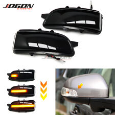 LED Dynamic Turn Signal Light Side Rearview Mirror Lamp For Volvo S80 2007-2013