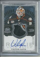 VIKTOR FASTH RPA RC AUTO 3 COL 5 BREAK PATCH #/249 2013-14 THE CUP DUCKS