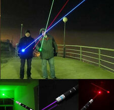 3Pcs/Set 1Mw Light Pen Powerful Laser Pointer 3-Color Light For In/Outdoor Use