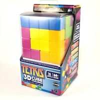 MASTERPIECES TETRIS 16 PIECE BRAINTEASER CUBE 3D PUZZLE * BRAND NEW SEALED