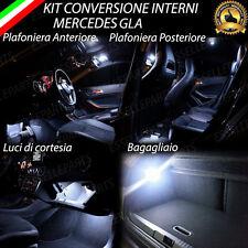 KIT LED INTERNI MERCEDES GLA ANT+POST+PORTAOGGETTI+BAGAGLIAIO NO ERROR CANBUS