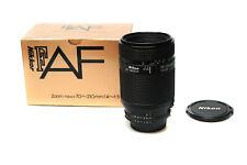 NIKON NIKKOR F AF 70-210mm 4,0-5,6 Tele Zoom  AF * Fotofachhändler *