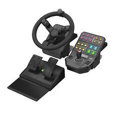 Logitech G Saitek Farming Simulator Controller Steering Wheel Pedals PC