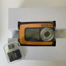 Polaroid iS085 16.0MP Digital Camera - Burnt Orange w/4GB Micro Card Open box