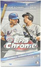 2020 TOPPS CHROME HOBBY BASEBALL - *NEW FACTORY SEALED HOBBY BOX* (SUN)