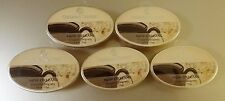 Colonial Candle ** POWDERED BEIGNETS ** Simmer Snaps/Tarts 2.4oz Oval - LOT OF 5
