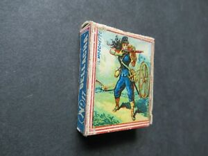 LATE 1800s OLD ITALIAN MATCHBOX.DESIGN 1.