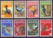 Malaysia 1965 SC 20-27 MH Set Bird