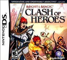 Nintendo DS Might & Magic: Clash of Heroes VIDEO Game 2DS 3DS DSi CARTRIDGE ONLY