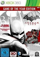 Xbox 360 Batman Arkham City GOTY Edition alemán muy buen estado