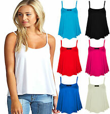 Unbranded Women's Strappy, Spaghetti Strap Waist Length Tops & Shirts