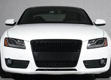 Für Audi A5 8T RS5 DTM Look Grill Wabengrill Stoßstange Gitter Blende S5 #02