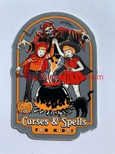 Spells For Kids Sticker ~ Water Bottle ~ Laptop ~ Wiccan Wicca Witch Book Decal